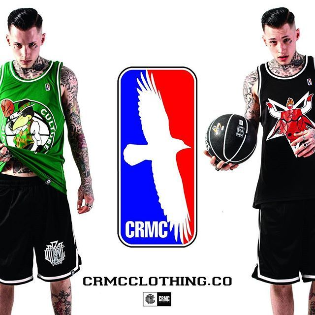 The NBA playoffs are here & in full swing! Who's your team? We're #spursnation here at CRMC Hq  Check out our mesh Basketball Tank Tops & Mesh Shorts available at www.crmcclothing.co Limited edition while stocks last | WE SHIP WORLDWIDE Model - Ryan Davies-Hall #nba #nbaplayoffs #basketball #crmcclothing #chicagobulls #bostonceltics #baphomet #nba #basketballgame #basketballlife #tanktop #fashionoftheday #dailyfashion #bball #bball #styles #style #alternativeguy #alternativeboy