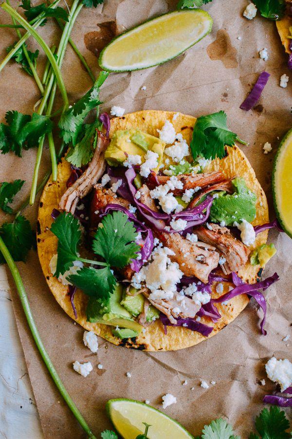 Carnitas Tacos, by thewoksoflife.com