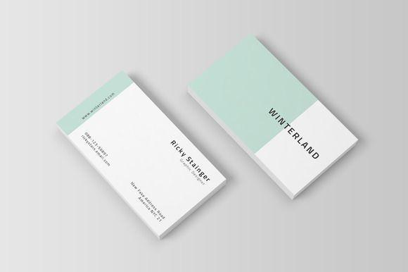 Simple Business Card Template by OrcShape on @Creative Market… e40849ee155c494ce84d38e2c331675f