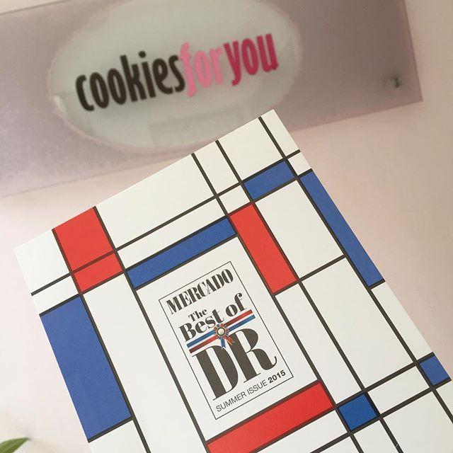 Gracias @revistamercado por nuevamente incluirnos en #bestofdr #bestofdr2015 !!!  #cookiesforyou #thebestofdr2015 by cookiesforyoudr
