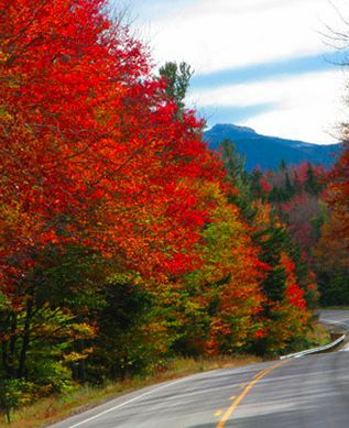 where to go in october - Fall in New England