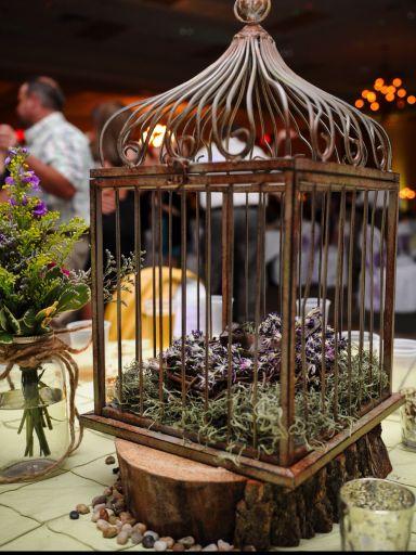 Birdcage Wedding Centerpiece
