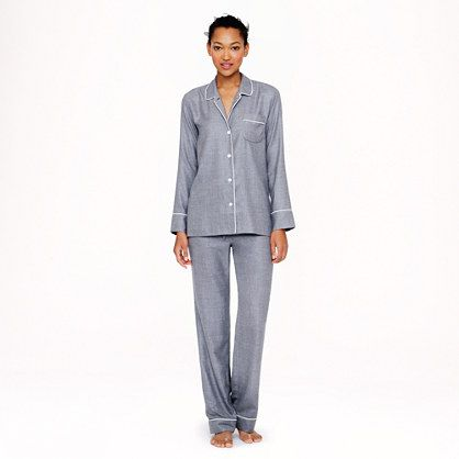 jcrew cashmere pajama set. Wow! And to think that at $1200, size small is sold out. Rats!