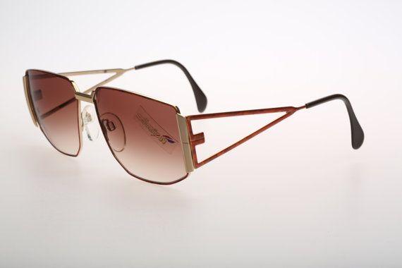 Silhouette M8025 / Vintage sunglasses / NOS / by CarettaVintage, $135.00