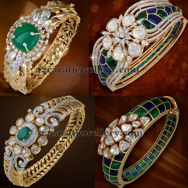 Jewellery Designs: Flawless Bangles from Shobha Asar