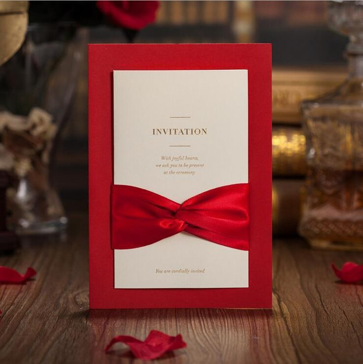 50 Wedding invitation cards with envelopes seals