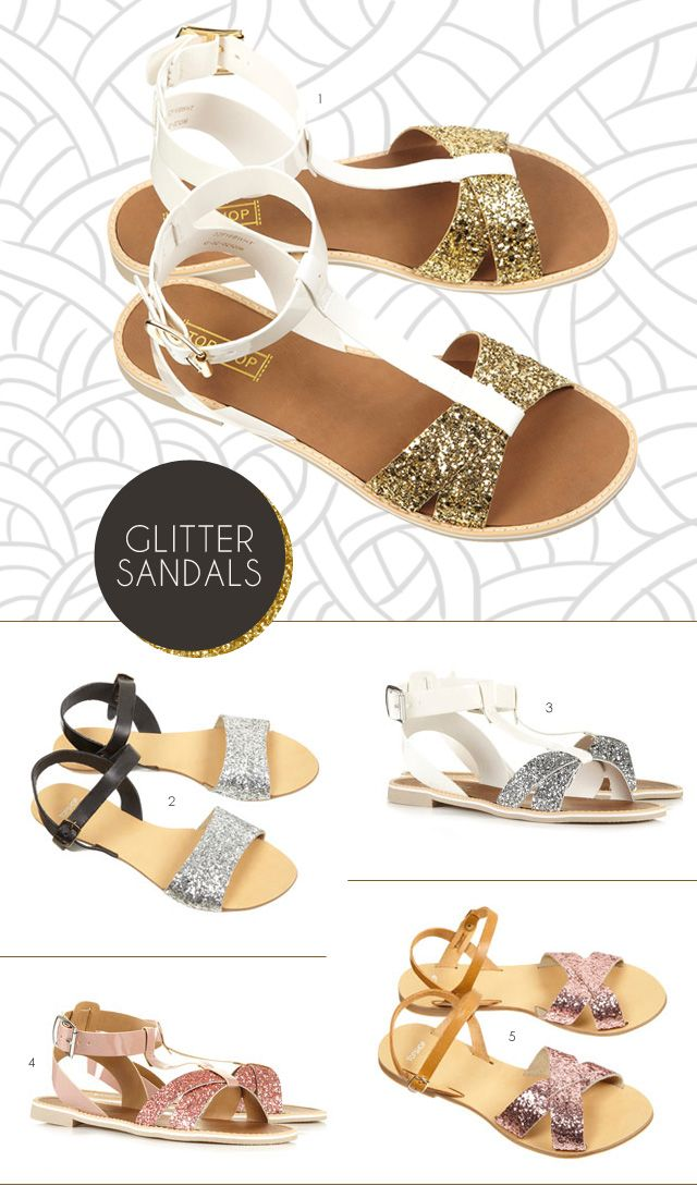 Glitter sandals??? Oh my...Glitter Sandals, Spring Summer, Spring Amp, Style Pinboard, Feelings Crafty, Shops A Holic Dreams, Topshop Glitter Sands, Dreams Closets