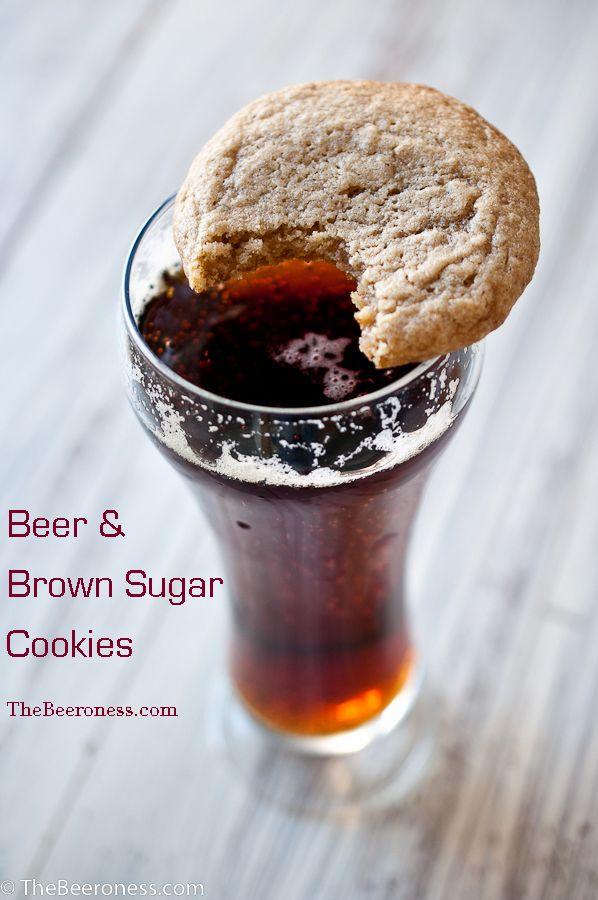 Soft Batch Beer and Brown Sugar Cookies