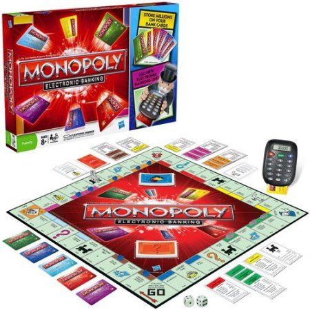 Monopoly Electronic Banking, Multicolor