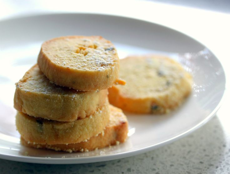Passionfruit & Lime Biscuits