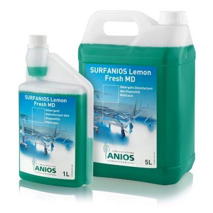 Surfanios Lemon Fresh MD 5 l Polecam preparat do dezynfekcji i mycia powierzchni, wyrobów medycznych i wyposażenia.