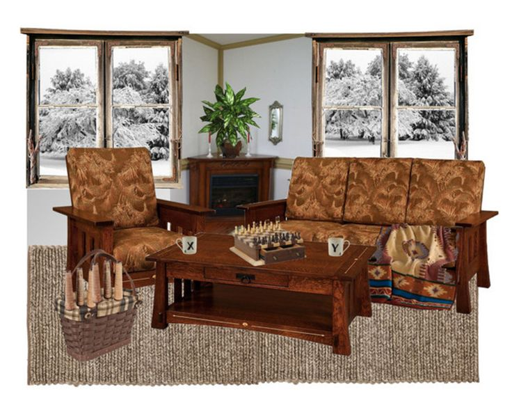 Amish Heritage Corner Electric Fireplace Mantel And Insert