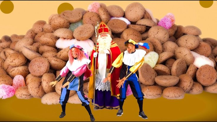 De Pepernotendans| Sinterklaas | Sinterklaasliedjes | Kinderliedjes | VI...