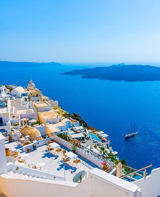 The Greek Islands - one of the the best new year holidays for 2015