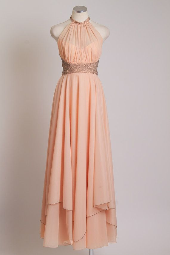 Mike Benet vintage formal dress size 12 by londoncouture on Etsy, $139.99