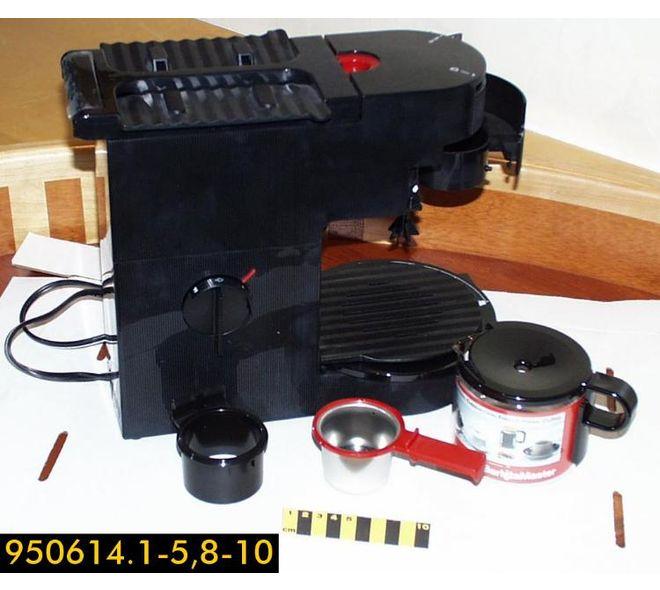 Cafetière pour espresso et Cappucino Pro E600 fait par Braun en Allemagne en 1994