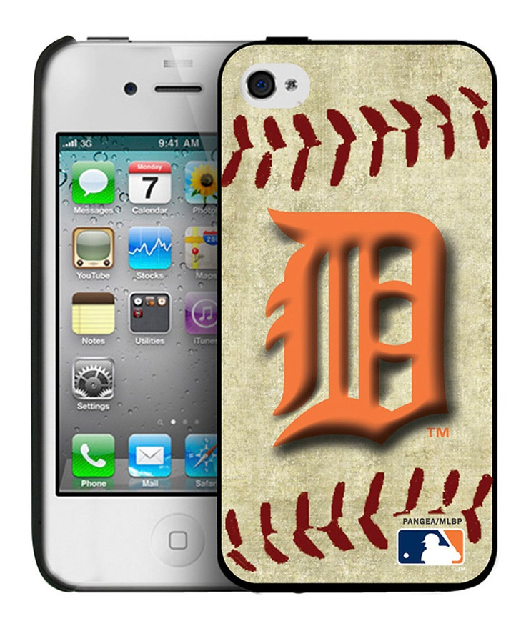 Detroit Tigers Baseball Cover for iPhone 4/4S