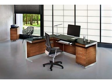 BDI Home Office Office Desk 6001-6002-6006-6007-6008 - Upper Room Home Furnishings - Ottawa and Orléans, Ontario