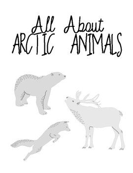 FREE All About Arctic Animals | Research Report | Writing
