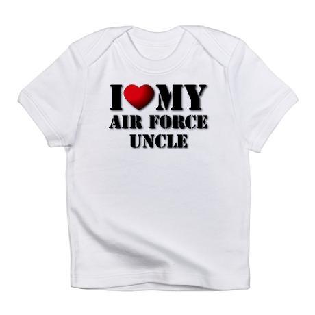 Air Force Uncle Creeper Infant T-Shirt @Lauren Villanueva