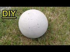In diesem Tutorial Video zeige ich euch, wie Ihr euch selbst eine Betonkugel für den Garten mit Hilfe eines Balls selber macht. Plastikball bei Amazon kaufen...