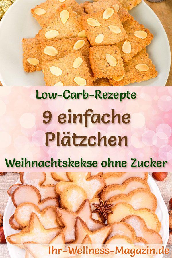 Weihnachtskekse Einfach Und Lecker.9 Einfache Plätzchen Rezepte Low Carb Gesund Und Ohne Zucker In