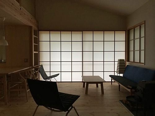 28 best images about irei satoshi on pinterest cabin for Living room of satoshi