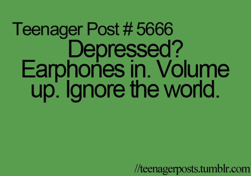 or when im sad, annoyed, angry or in the mood for one direction. :)