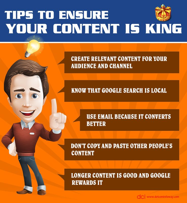 Tips To Ensure Your Content Is King!