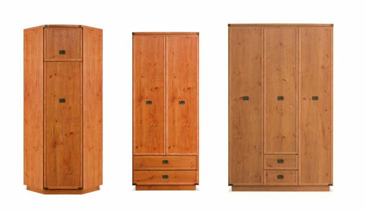 Šatní skříně do ložnice, předsíně, obývacího pokoje i dětského pokoje.