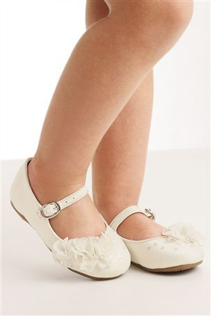 Buy Ivory Bridesmaid Shoes (Younger Girls) from the Next UK online shop