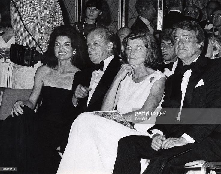Jackie Kennedy Onassis, Bill Walton, Eunice Kennedy Shriver and Sargent Shriver