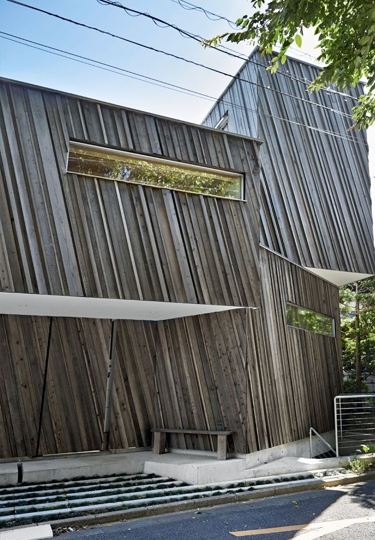 Yuichi Kodai and Lee Yoshitaka of Sandwich created Kyodo House with sustainability in mind.
