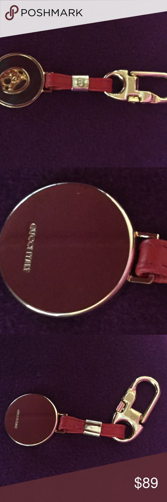 Gucci keychain Authentic Gucci keychain.  Very good condition. Gucci Accessories Key & Card Holders