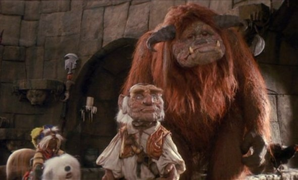 Sir Didymus, Hoggle and Ludo (Labyrinth)