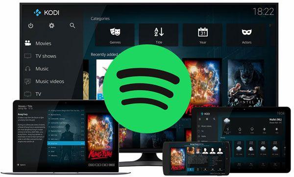 How To Play Spotify Music On Kodi M4vgear Spotify Music Spotify Kodi