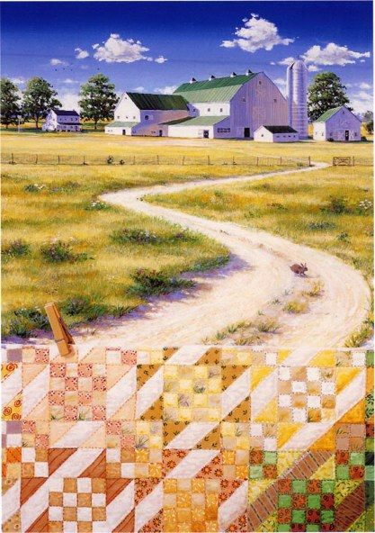 barkerquiltscapes.com.  Sunny lane.  Love these!