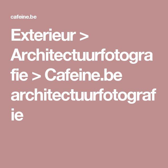 Exterieur > Architectuurfotografie > Cafeine.be architectuurfotografie