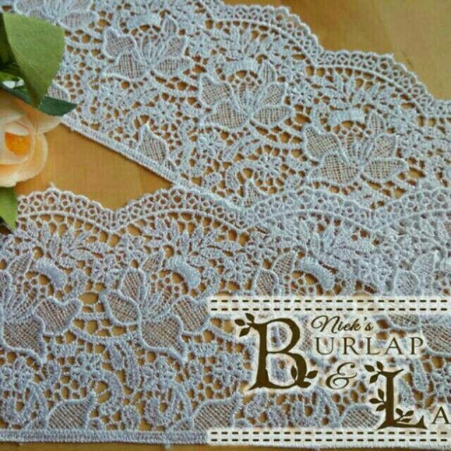 Saya menjual Renda Bordir Bunga vintage & daun putih gading 10cm seharga Rp25.000. Dapatkan produk ini hanya di Shopee! https://shopee.co.id/nieke_wibowo/441405293 #ShopeeID