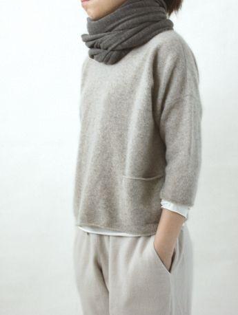 cashmere pullover/evam eva