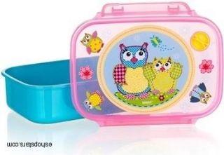 BANQUET desiatový box OWLS Blue 12651000B