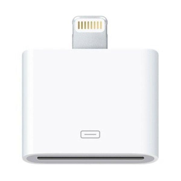 Kompatibel Lightning / 30-pin Adapter - iPhone 6 / 6S, iPad Air 2 - Hvid