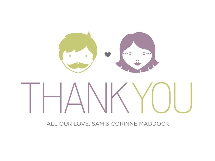 Best Stylish Wedding Thank You Note Cards Images On