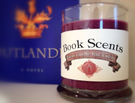 Outlander  Book Inspired Candle  Handpoured by BookScentsCandles, $14.00 #outlander