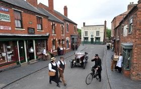 Black Country Living Museum - Museums Dudley, Birmingham, West Midlands. Some of Peaky Blinders was filmed here