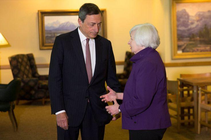 Mario Draghi llega atado de pies y manos al esperadísimo cónclave de Jackson Hole