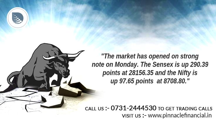#OpeningBell : The #Equity market has opened on strong note Monday. The #Sensex is up 155.79 points or 0.6 percent at 28021.75 and the #Nifty is up 55 points or 0.6 percent at 8666.15. Maruti, Adani Ports, Eicher Motors, Tata Motors are #Gainers while ONGC, Wipro, Infosys, GAIL and PowerGrid are #Losers in the #NSE. The Indian #Rupee rose in the early trade on Monday. It has opened higher by 7 paise at 66.54 per dollar.