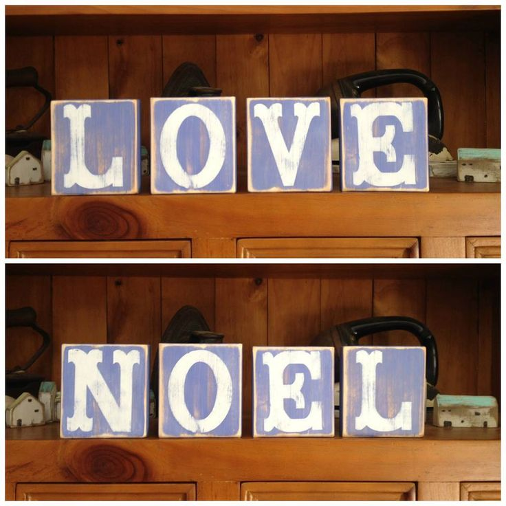 Handmade by Folkwood  CHRISTMAS LOVE LETTERS