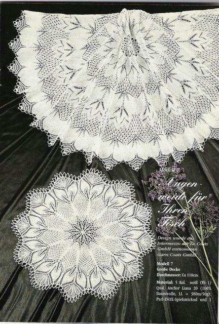 9.Diana special Strickdeckchen D965 - raquel - Picasa Web Albümleri