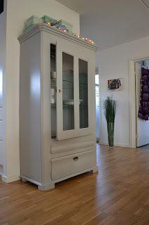 Fru Nøhr's - Krea & Kaos: Gamle møbler - ny kærlighed og en ordentlig røvfuld maling...